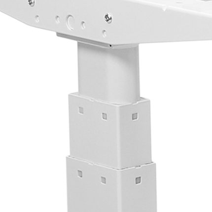 Stabile 3-stufige Hubsäulen für sichere stufenlose Höhenanpassung