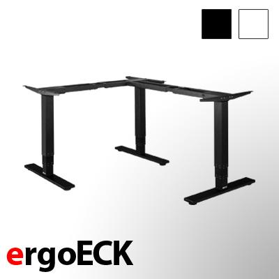 exeta ergoECK - elektrisch höhenverstellbarer Eck-Schreibtisch