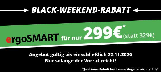 ergoSMART Black-Weekend-Rabatt