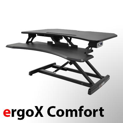 exeta ergoX Comfort- elektrisch höhenverstellbarer Tischaufsatz auf der-ergotisch.de kaufen