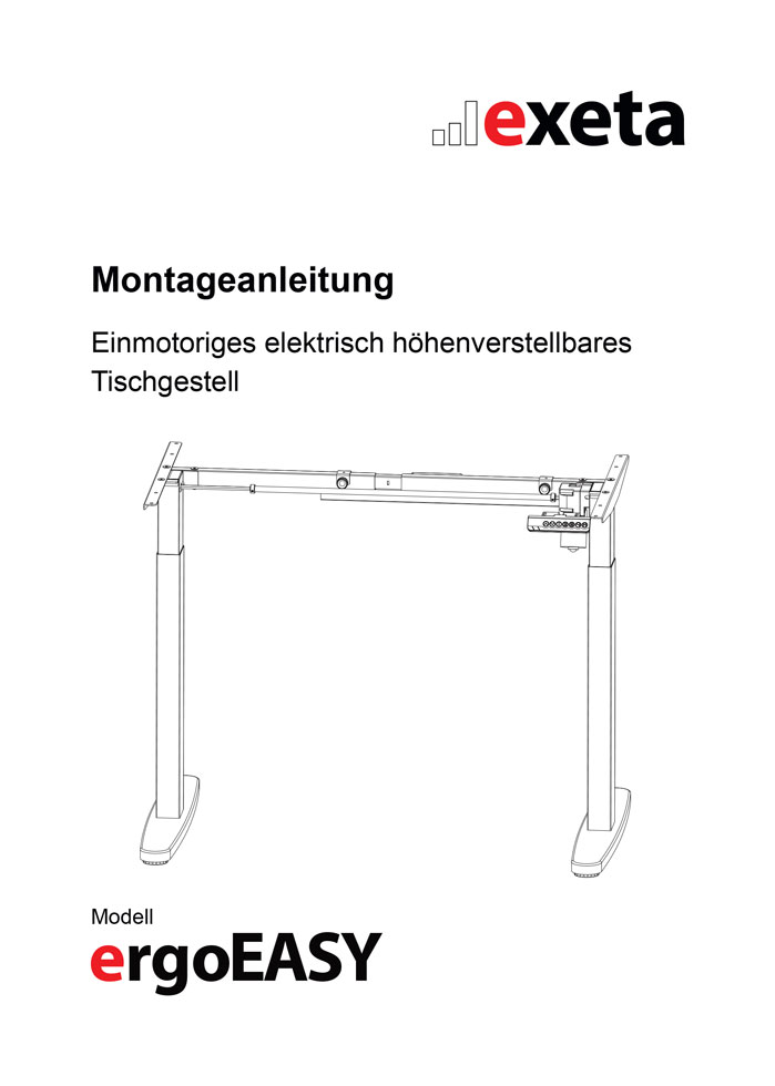ergoEASY Montageanleitung herunterladen