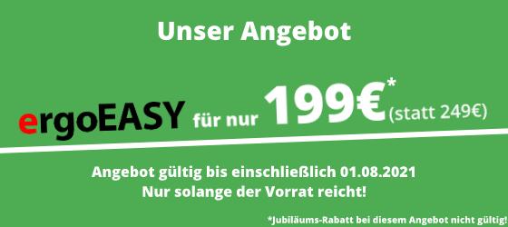 ergoEASY Angebot 199€